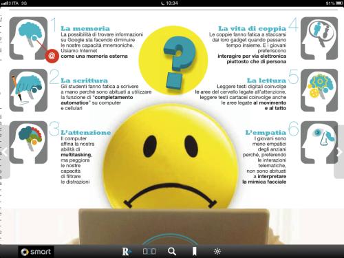 internet e neurofisiologia da Repubblica 5 gennaio 2013