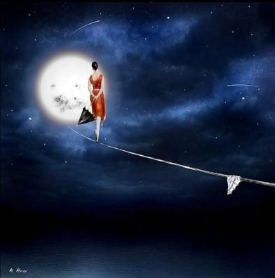 sul filo della luna
