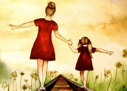madre-e-figlia-camminano